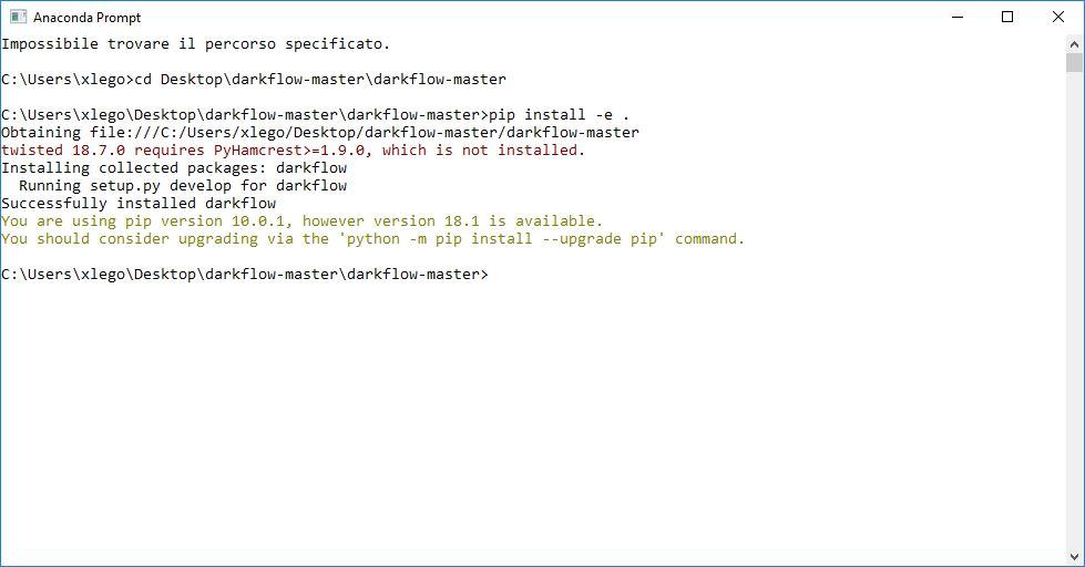 YOLO Object Detection (Tensorflow,Darkflow, Python) | Guida